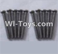 Wltoys A969-B Parts-A949-41 Round head self-tapping screws-M2X16(10PCS) For Wltoys A969-B Rc Car Parts,High speed 1:18 Scale 4wd,2.4G A969-B rc racing car Parts,On Road Drift Racing Truck Car Parts