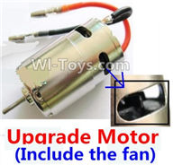 Wltoys A969 Parts-22 Upgrade Brush motor(Include the Fan,can strengthen the cooling function) For Wltoys A969 desert rc trunk parts,rc car and rc racing car Parts