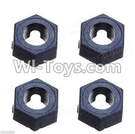 Wltoys A969 Parts-41 Official Hexagonal round seat(4pcs) For Wltoys A969 desert rc trunk parts,rc car and rc racing car Parts