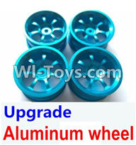 Wltoys A969 Parts-50 Upgrade Aluminum wheel(4pcs-Not include the Tire leather) For Wltoys A969 desert rc trunk parts,rc car and rc racing car Parts