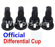 Wltoys A969 Parts-57 Official Differential Cup(4pcs) For Wltoys A969 desert rc trunk parts,rc car and rc racing car Parts