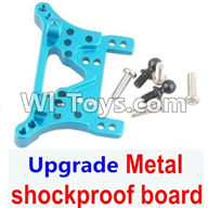 Wltoys A969 Parts-77 Upgrade Metal shockproof board-Blue For Wltoys A969 desert rc trunk parts,rc car and rc racing car Parts
