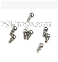 Wltoys A969 Parts-95 Ball-shape screws(9.3mmX5mm)-8pcs For Wltoys A969 desert rc trunk parts,rc car and rc racing car Parts