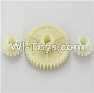 Wltoys A979 Parts-Reduction gear with 2 small gear,Wltoys A979 RC Truck Parts,rc car and rc racing car Spare Parts