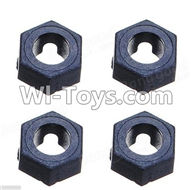 Wltoys A979 Parts-Hexagonal round seat(4pcs),Wltoys A979 RC Truck Parts,rc car and rc racing car Spare Parts