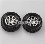 Wltoys A979 Parts-Right Wheel(2pcs),Wltoys A979 RC Truck Parts,rc car and rc racing car Spare Parts