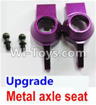 Wltoys A979 Parts-Upgrade Metal axle seat-Purple,Wltoys A979 RC Truck Parts,rc car and rc racing car Spare Parts