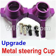 Wltoys A979 Parts-Upgrade Metal steering Cup-Purple,Wltoys A979 RC Truck Parts,rc car and rc racing car Spare Parts