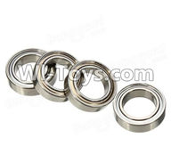 Wltoys A979 Parts-Ball Bearing(4Pcs)-8mmX12mmX3.5mm,Wltoys A979 RC Truck Parts,rc car and rc racing car Spare Parts