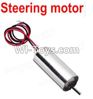 Wltoys A989 Parts-Steering motor with Red and Black Wire,Wltoys A989 RC Car Parts,Mini racing car 1:24 1/24 rc car and rc racing car Parts