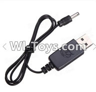 Wltoys A999 Parts-USB charger for Wltoys L939 A989 A999,Wltoys A999 RC Car Parts,Wltoys 1/24 1:24 Mini rc car and rc racing car Parts