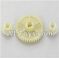 Wltoys K929 Parts-Reduction gear with 2 small gear,Wltoys K929 desert RC Truck Parts,1:18 rc car and rc racing car Parts