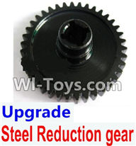 Wltoys K929 Parts-Upgrade Steel Reduction gear-Black,Wltoys K929 desert RC Truck Parts,1:18 rc car and rc racing car Parts
