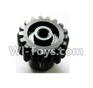 Wltoys K929 Parts-Upgrade motor Gear(1pcs)-0.7 Modulus-Black,Wltoys K929 desert RC Truck Parts,1:18 rc car and rc racing car Parts