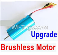 Wltoys K929 Parts-Upgrade Brushless motor,Wltoys K929 desert RC Truck Parts,1:18 rc car and rc racing car Parts