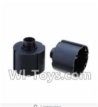 Wltoys K929 Parts-Car Differential Case(2pcs),Wltoys K929 desert RC Truck Parts,1:18 rc car and rc racing car Parts