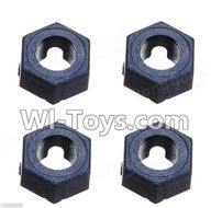 Wltoys K929 Parts-Hexagonal round seat(4pcs),Wltoys K929 desert RC Truck Parts,1:18 rc car and rc racing car Parts