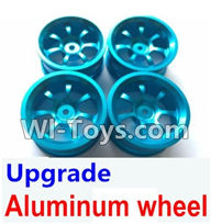 Wltoys K929 Parts-Upgrade Aluminum wheel(4pcs-Not include the Tire leather),Wltoys K929 desert RC Truck Parts,1:18 rc car and rc racing car Parts