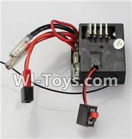 Wltoys K929 Parts-Receiver box,Receiver board,Wltoys K929 desert RC Truck Parts,1:18 rc car and rc racing car Parts