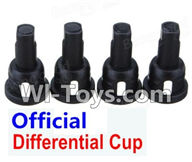 Wltoys K929 Parts-Differential Cup(4pcs),Wltoys K929 desert RC Truck Parts,1:18 rc car and rc racing car Parts