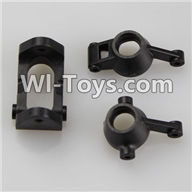 Wltoys K929 Parts-Steering arm(2pcs) & C-Shape Seat,Wltoys K929 desert RC Truck Parts,1:18 rc car and rc racing car Parts