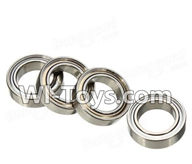 Wltoys K929 Parts-Ball Bearing(4Pcs)-8mmX12mmX3.5mm,Wltoys K929 desert RC Truck Parts,1:18 rc car and rc racing car Parts