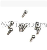 Wltoys K929 Parts-Ball-shape screws(9.3mmX5mm)-8pcs,Wltoys K929 desert RC Truck Parts,1:18 rc car and rc racing car Parts