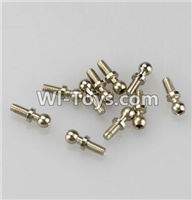 Wltoys K929 Parts-Ball-shape screws(10.8mmX4mm)-8pcs,Wltoys K929 desert RC Truck Parts,1:18 rc car and rc racing car Parts