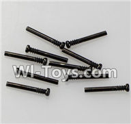 Wltoys K929 Parts-Round-head shape Screws-M2X17.5-(10pcs),Wltoys K929 desert RC Truck Parts,1:18 rc car and rc racing car Parts