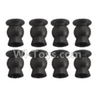Wltoys K939 Parts-Ball head shape screws-5.8X8.2-(8pcs)-K939-45 ,Wltoys K939 RC Car Spare Parts Replacement Accessories,1/10 1:10 Scale 4wd K939 RC Truck parts,RC Racing car Parts