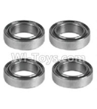 Wltoys K939 Parts-K939-50 Rolling bearings-5x8x2.5mm(4pcs),Wltoys K939 RC Car Spare Parts Replacement Accessories,1/10 1:10 Scale 4wd K939 RC Truck parts,RC Racing car Parts