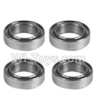 Wltoys K939 Parts-K939-52 Rolling bearings-10x15x4mm(4pcs),Wltoys K939 RC Car Spare Parts Replacement Accessories,1/10 1:10 Scale 4wd K939 RC Truck parts,RC Racing car Parts