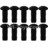 Wltoys K939 Parts-A929-81 Pan head inner hexagon Screws-M3X8(10pcs),Wltoys K939 RC Car Spare Parts Replacement Accessories,1/10 1:10 Scale 4wd K939 RC Truck parts,RC Racing car Parts
