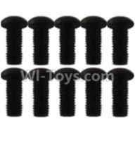 Wltoys K939 Parts-A929-82 Pan head inner hexagon Screws-M2.5X10(10pcs),Wltoys K939 RC Car Spare Parts Replacement Accessories,1/10 1:10 Scale 4wd K939 RC Truck parts,RC Racing car Parts