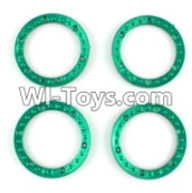 Wltoys K949 Parts-Tire positioning ring(4pcs),Wltoys K949 RC Car Parts,High speed 1:10 Scale 4wd,K949 Electric Power On Road Drift Racing Truck Car Parts