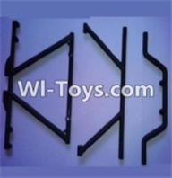 Wltoys 10428 Body Middle Rollcage C and D-K949-103,Wltoys 10428 RC Car Parts,High speed 1:10 Scale 4wd,10428 Electric Power On Road Drift Racing Truck Car Parts