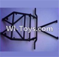 Wltoys 10428 Body Middle Rollcage A and B-K949-104,Wltoys 10428 RC Car Parts,High speed 1:10 Scale 4wd,10428 Electric Power On Road Drift Racing Truck Car Parts