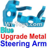 Wltoys K949 Parts-Upgrade Metal Steering arm-Blue-2pcs,Wltoys K949 RC Car Parts,High speed 1:10 Scale 4wd,K949 Electric Power On Road Drift Racing Truck Car Parts