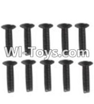 Wltoys K949 Parts-112 A929-60 Countersunk head inner hexagon Screws-M3X16-Black zinc plated(10PCS),Wltoys K949 RC Car Parts,High speed 1:10 Scale 4wd,K949 Electric Power On Road Drift Racing Truck Car Parts