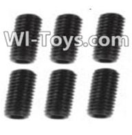 Wltoys K949 Parts-119 A929-85 Jimi screws-M3X8-Black zinc plated(6PCS),Wltoys K949 RC Car Parts,High speed 1:10 Scale 4wd,K949 Electric Power On Road Drift Racing Truck Car Parts