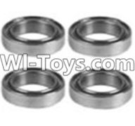 Wltoys K949 Parts-125 K929-52 K939-52 Bearing(10X15X4)-4PCS,Wltoys K949 RC Car Parts,High speed 1:10 Scale 4wd,K949 Electric Power On Road Drift Racing Truck Car Parts