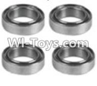 Wltoys K949 Parts-126 K939-72 Bearing(4pcs)-6X12X4,Wltoys K949 RC Car Parts,High speed 1:10 Scale 4wd,K949 Electric Power On Road Drift Racing Truck Car Parts