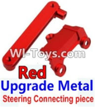 Wltoys K949 Parts-Upgrade Metal Steering connecting piece-Red,Wltoys K949 RC Car Parts,High speed 1:10 Scale 4wd,K949 Electric Power On Road Drift Racing Truck Car Parts