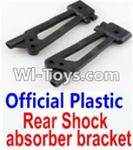 Wltoys K949 Parts-Official Plastic Rear Shock absorber bracket-2pcs,Wltoys K949 RC Car Parts,High speed 1:10 Scale 4wd,K949 Electric Power On Road Drift Racing Truck Car Parts