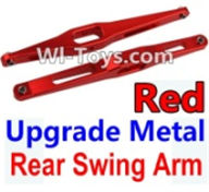 Wltoys K949 Parts-Upgrade Metal Rear Swing Arm-Red-2pcs,Wltoys K949 RC Car Parts,High speed 1:10 Scale 4wd,K949 Electric Power On Road Drift Racing Truck Car Parts