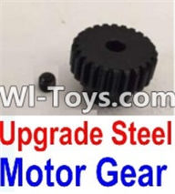 Wltoys K949 Parts-Upgrade Steel Motor Gear,Wltoys K949 RC Car Parts,High speed 1:10 Scale 4wd,K949 Electric Power On Road Drift Racing Truck Car Parts