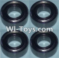 Wltoys K949 Parts-Bearing(5X10X4)-4pcs,Wltoys K949 RC Car Parts,High speed 1:10 Scale 4wd,K949 Electric Power On Road Drift Racing Truck Car Parts