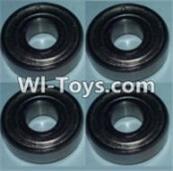 Wltoys K949 Parts-Bearing(5X13X4)-4pcs,Wltoys K949 RC Car Parts,High speed 1:10 Scale 4wd,K949 Electric Power On Road Drift Racing Truck Car Parts