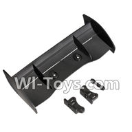 Wltoys K959 parts-Car Spoiler For WLtoys K959 1/12 1:12 RC Drift Car Parts desert Off Road Buggy parts