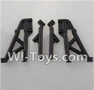 Wltoys K959 parts-Rear Shock Absorption Bracket For WLtoys K959 1/12 1:12 RC Drift Car Parts desert Off Road Buggy parts